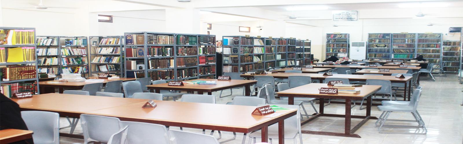 مكتبة  كلية دلتا العلوم والتكنولوجيا عام 2003م مع بداية نشأة الكلية