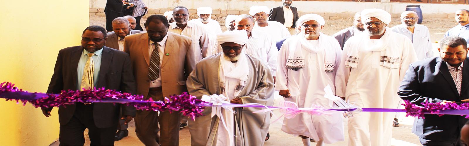 افتتاح المجمع الطبي